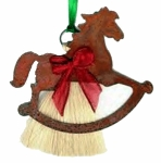 Cowboy Collectibles Horse Hair Rocking Horse Ornaments