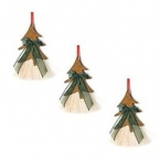 Cowboy Collectibles Horse Hair Tree Ornaments