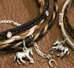 Cowboy Collectibles Horse Hair Two Tone Choker