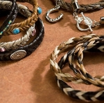 Cowboy Collectibles Woven Horse Hair Toggle Bracelets