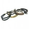 Cowboy Collectibles Woven Horse Hair Double Spiral Bracelets