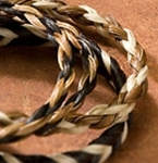 Cowboy Collectibles Woven Horse Hair Single Spiral Bracelets