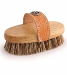 "Cowboy Union Oval Horse Grooming Brush, 7 1/2"" Tan"
