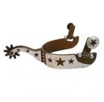 Cut Out Stars Antique Brown Men's Spur