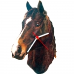 Dark Bay QH Horse Head