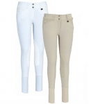 Debbie Stephens Ladies DS Front Zip Breech