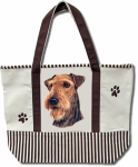 Dog Breed Tote Bag - AiRedale