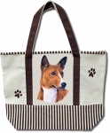 Dog Breed Tote Bag - Basenji