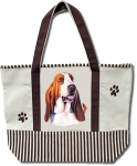 Dog Breed Tote Bag - Basset Hound