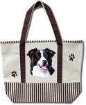 Dog Breed Tote Bag - Border Collie