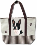 Dog Breed Tote Bag - Boston Terrier