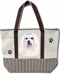 Dog Breed Tote Bag - Maltese