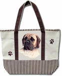Dog Breed Tote Bag - Mastiff
