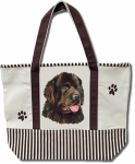 Dog Breed Tote Bag - Newfoundland