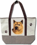 Dog Breed Tote Bag - Norwich Terier