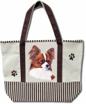 Dog Breed Tote Bag - Papillon