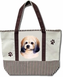 Dog Breed Tote Bag - Pekepoo