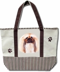 Dog Breed Tote Bag - Pekingese