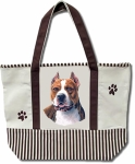 Dog Breed Tote Bag - Pit Bull