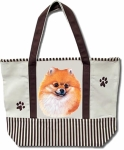 Dog Breed Tote Bag - Pomeranian