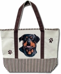 Dog Breed Tote Bag - Rottweiler
