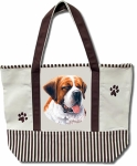 Dog Breed Tote Bag - Saint Bernard