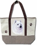 Dog Breed Tote Bag - Samoyed