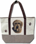 Dog Breed Tote Bag - Schnoodle