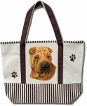 Dog Breed Tote Bag - Sharpei