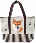 Dog Breed Tote Bag - Shiba Inu