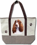 Dog Breed Tote Bag - Springer Spaniel