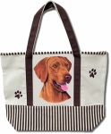 Dog Breed Tote Bag - Vizsla