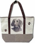 Dog Breed Tote Bag - Weimeraner