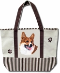 Dog Breed Tote Bag - Welsh Corgi