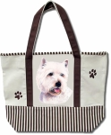 Dog Breed Tote Bag - Westie