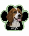 Dog Paw Mousepads - Beagle