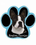 Dog Paw Mousepads - Boston Terrier