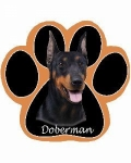 Dog Paw Mousepads - Doberman