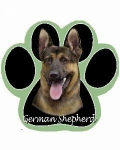 Dog Paw Mousepads - German Shepherd