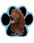 Dog Paw Mousepads - Irish Setter