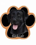 Dog Paw Mousepads - Labrador Black