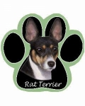 Dog Paw Mousepads - Rat Terrier