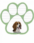 Dog Paw Notepads - Beagle