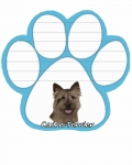 Dog Paw Notepads - Cairn Terrier
