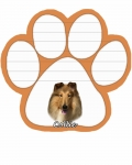 Dog Paw Notepads - Collie