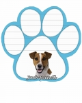 Dog Paw Notepads - Jack Russell