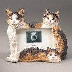 Dog Picture Frame - Calico Cats (4x6)
