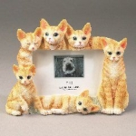 Dog Picture Frame - Orange Tabbies (4x6)