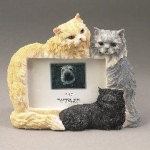 Dog Picture Frame - Persians multicolor (4x6)