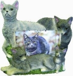 Dog Picture Frame - Russian Blue (4x6)